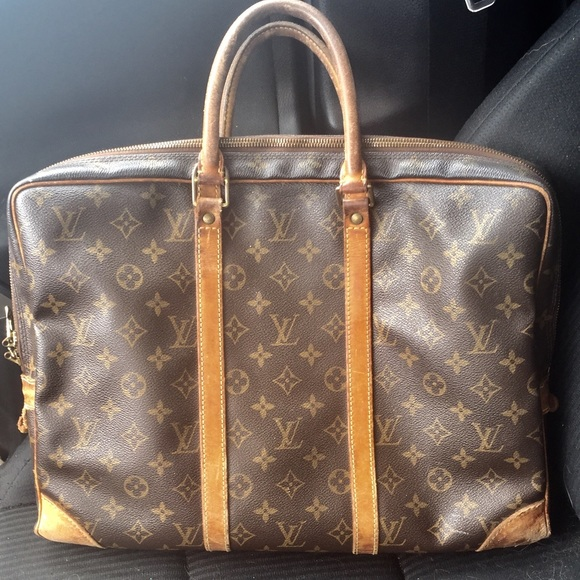 a761b4eaf6f Louis Vuitton Bags   Monogram Business Laptop Bag   Poshmark